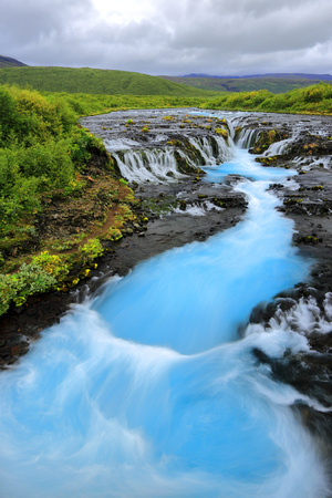 The Hidden Beauty Of Brúarfoss