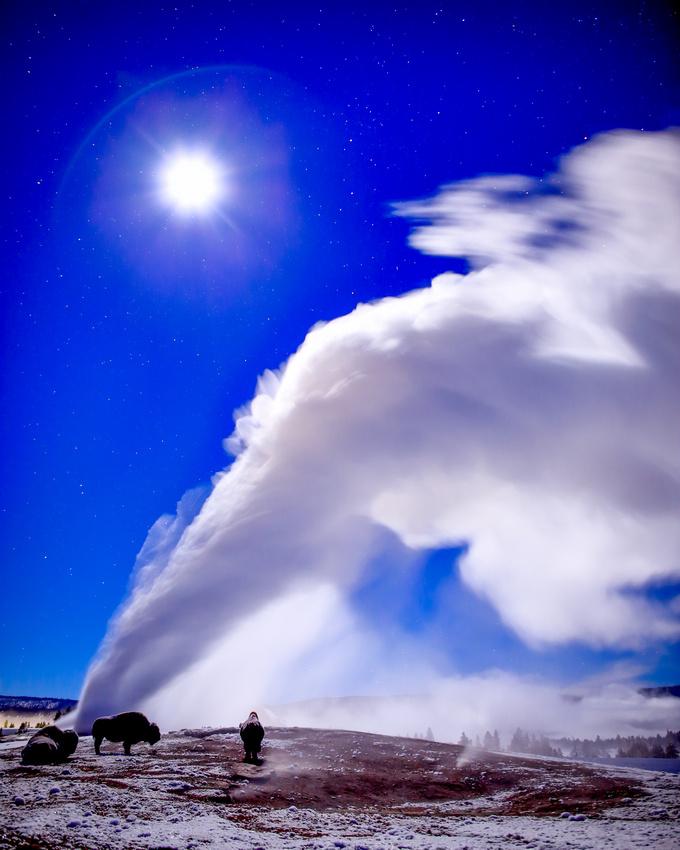Seeking Warmth Under Steam And Stars