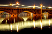 Mill Avenue Bridge Reflections