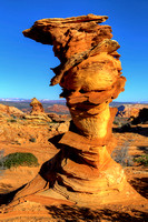 The Control Tower Of Coyote Buttes