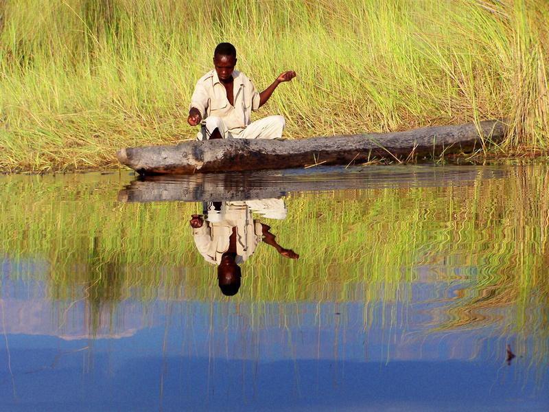 Mokoro Fisherman
