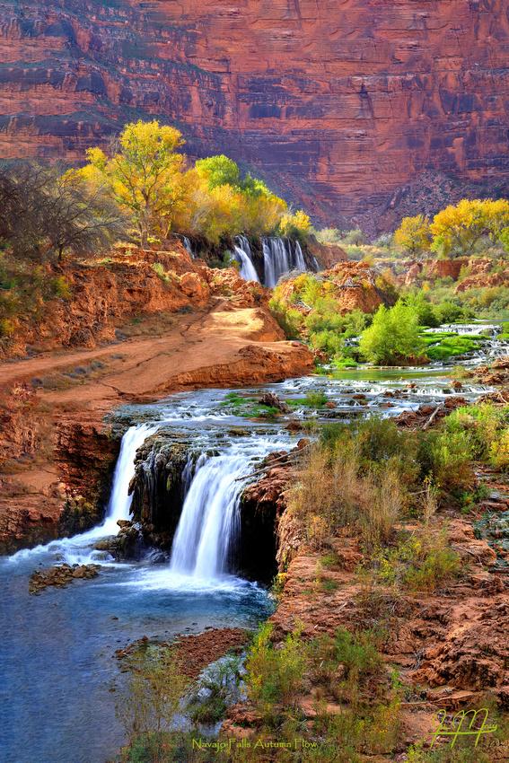 Navajo Falls Flow