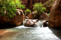Flowing Havasu Creek