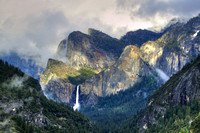 Cloudy Cathedral Over Brooding Bridalveil